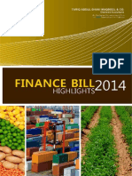Finance Bill Highlights 2014