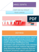 Caries Dentis