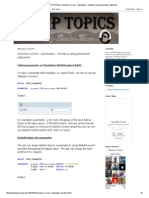 SAP ABAP TUTORIALS_ Selection Screen _ Radiobutton , Checkbox Using Parameter Statement