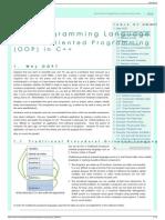 Object-oriented Programming (OOP) in C++