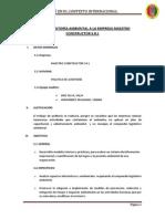 Plan de Auditoría Ambiental a Una Empresa
