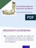 Crecimieto microbiano