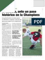 La Verdad Del CGEl Lincoln, Ante Un Pase Histórico en La Champions