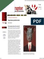 Gustavo Espinosa, Impresiones Postelectorales