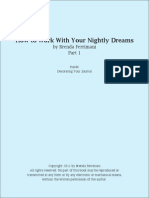 How to Work With Your Knghtly Dreams Brenda Ferrimani