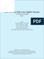 How to Work With Nightly Dreams Part 2