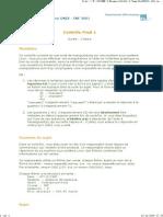 Sujet CF1 UNIX Annee 2007