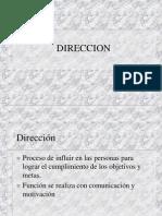 DIRECCION.ppt