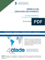 Modulo III 1 Demanda Sector Residencial
