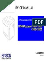 EPSON AcuLaser C2800_3800 service manual