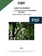 Plano Manejo Reserva Natural Morro Da Mina e Santa Mariaspvs Iap1