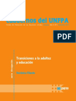 Filardo - Transiciones a La Adultez y Educación