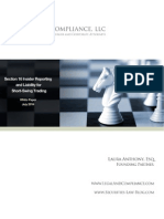 Legal & Compliance, LLC-White Paper- Section 16 Insider Reporting and Liability for Short-Swing Trading