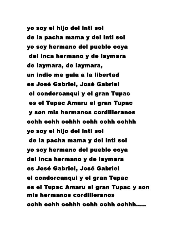 El gran yo soy letras - El Gran Yo Soy Letras 17