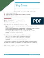 Documentation AdvancedTopMenuEN