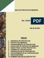 Gerencia Proyectos Mineros UNI.ppt