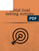 Initial Goal Setting Activity
