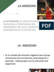 Ansiedad en El Deporte