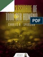 Livro eBook a Necessidade de Todo Ser Humano