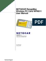 NetGear Manual - WPN511_UM_03Feb07