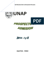 Prospecto 2014 - I y II