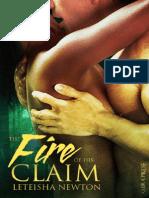 LeTeisha Newton - The Fire of His Claim