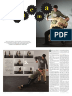 Black Belt Magazine Systema Article