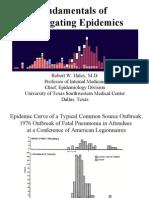 fundamentals in investigating epidemics