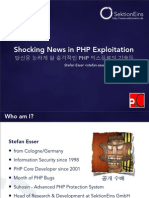 Shocking News in PHP Exploitation