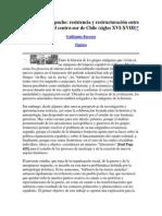Etnogénesis Mapuche