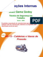 NR 13 - Caldeiras e Vasos de Pressão - Autoclave