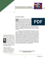 Evangelio y Posmodernismo en España