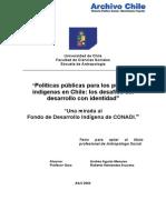 Políticas Públicas Chile