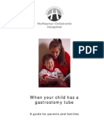 Guide for parents who have a child with Gastrostomy