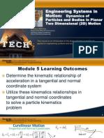 Module 5 - 2D Dynamics