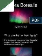 Aurora Borealis Powerpoint for Blog