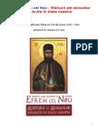 Marturii ale minunilor savarsite in zilele noastre (Sfantul Efrem cel Nou)