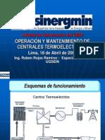 Operacion y Mantenimiento de Centrales Termoelectricas (Ing. Ruben Rojas Ramirez)