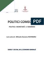 POLITICI COMECIALE