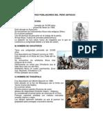 Primeros Pobladores Del Perú Antiguo