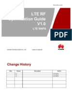 HUAWEI LTE RF Optimization Guide