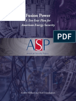 Fusion White Paper 2014 - 10 Year Plan for American Energy Security