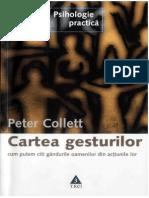 cartea_gesturilor Peter Collet