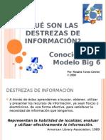 Competencias de Información y Modelo Big 6