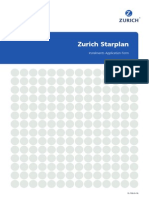 Zurich Starplan Instalments Application Form