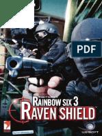Rainbow Six 3 Raven Shield - UK Manual - PC