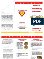 school counseling brochure