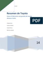 El Modelo Toyota