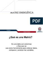 Unidad 2 Matriz Energetica
