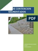 Muro de Contencion Segmentado